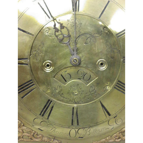 Thomas Billam, A George III oak longcase clock,