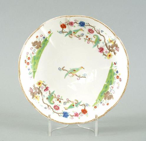 A Swansea circular dish, circa 1815-17