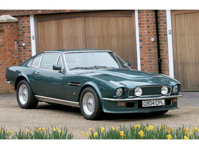 1990 Aston Martin V8 Vantage Saloon SCFCV81V3KTR12695