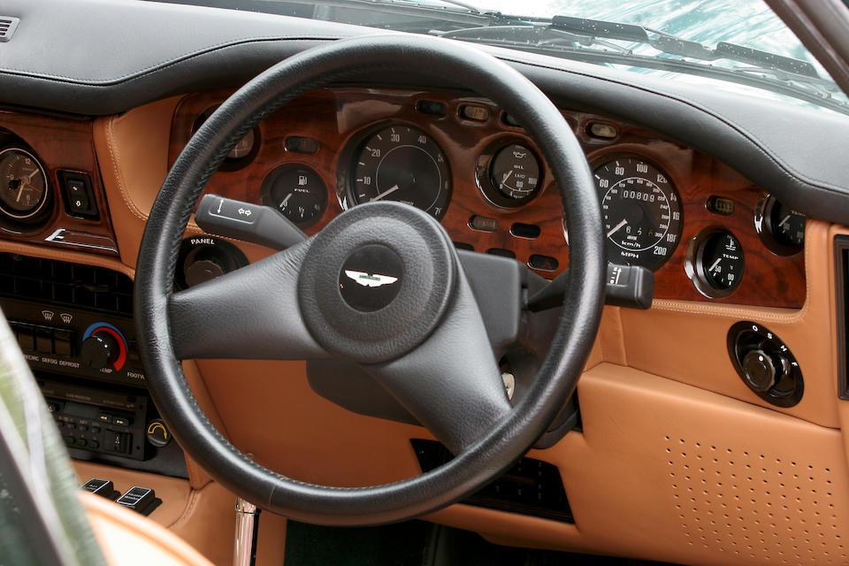 1990 Aston Martin V8 Vantage Saloon  Chassis no. SCFCV81V3KTR12695 Engine no. V/580/2695/X