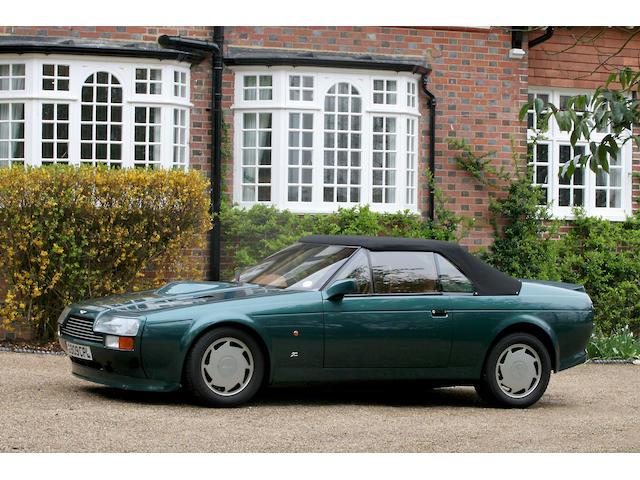 1990 Aston Martin V8 Vantage Zagato Volante SCFCV81Z2KTR30043