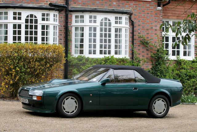 1990 Aston Martin V8 Vantage Zagato Volante  Chassis no. SCFCV81Z2KTR30043 Engine no. V/580/0043/X