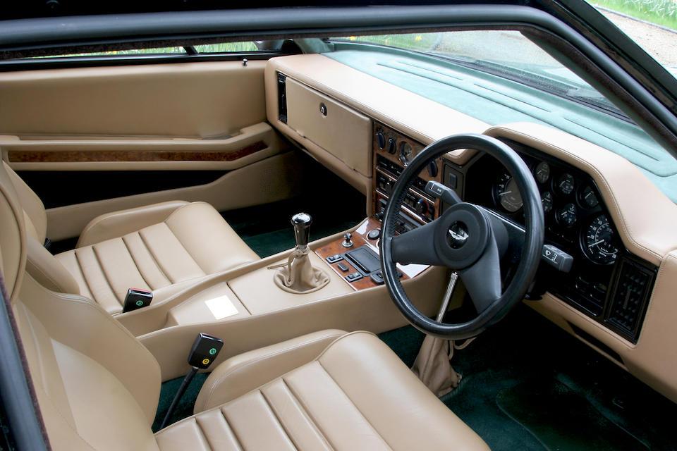1990 Aston Martin V8 Vantage Zagato Coupé  Chassis no. SCFCV81Z5HTR20050 Engine no. . V/580/0050/X