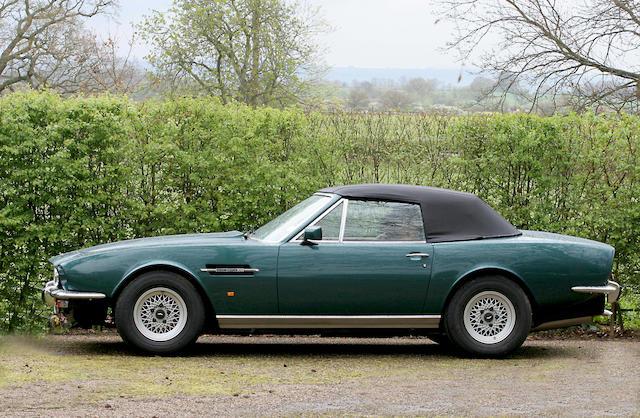 1990 Aston Martin V8 Volante  Chassis no. SCFCV81C2KTR15814 Engine no. V/585/5814