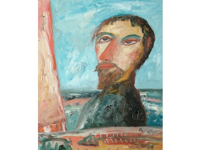 John Bellany (British, b.1942) Self Portrait 61 x 51cm (24 x 20in)