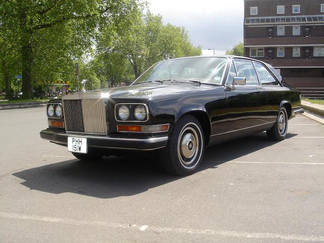 1981 Rolls-Royce Camargue Coupé  Chassis no. SCAYJ42A4BCX03669