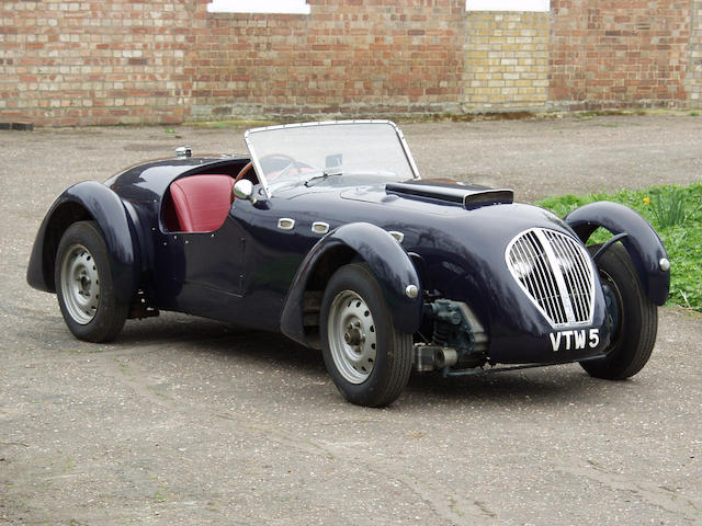 1950 Healey Silverstone Roadster  Chassis no. D37 Engine no. B4025