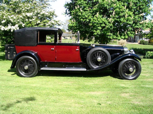 1927 Rolls-Royce 40/50hp Phantom I Sedanca de Ville  Chassis no. 2RF Engine no. 5DV