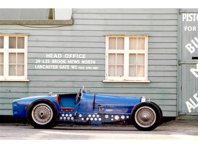 The Bugatti Factory Team Car – 'Voiture Moteur No.3',1933 Bugatti Type 59 Supercharged 3.3 litre Grand Prix Two Seater  Chassis no. 59121 Engine no. 3
