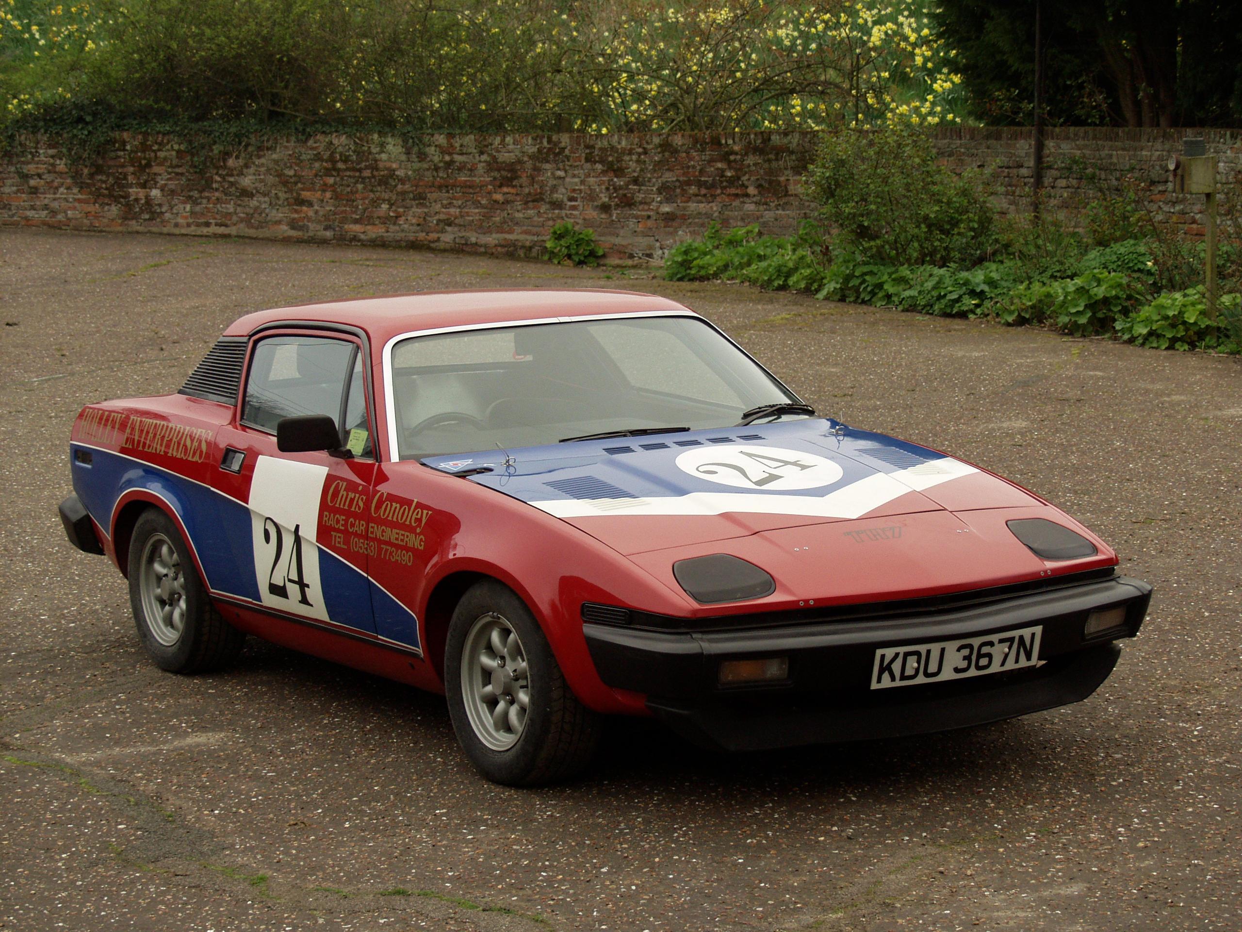 Regretfully Withdrawn** 1975 Triumph TR7 V8 Race/Rally car