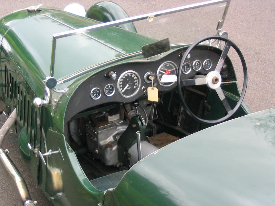 The Original Prototype,1928 Alta Supercharged Sports Two-Seater  Chassis no. 119 Engine no. 10