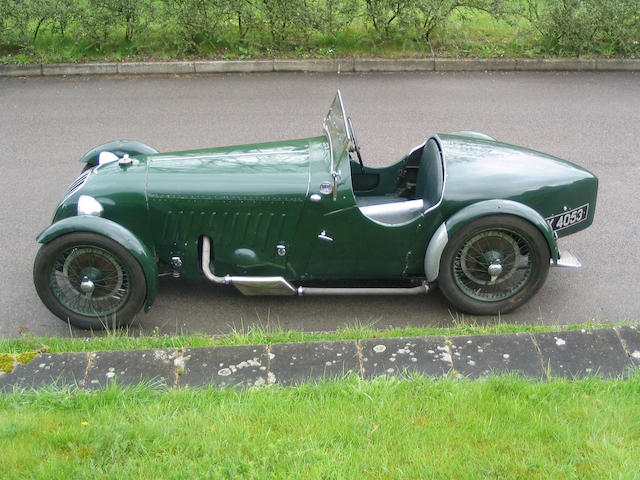 The Original Prototype,1928 Alta Supercharged Sports Two-Seater 119