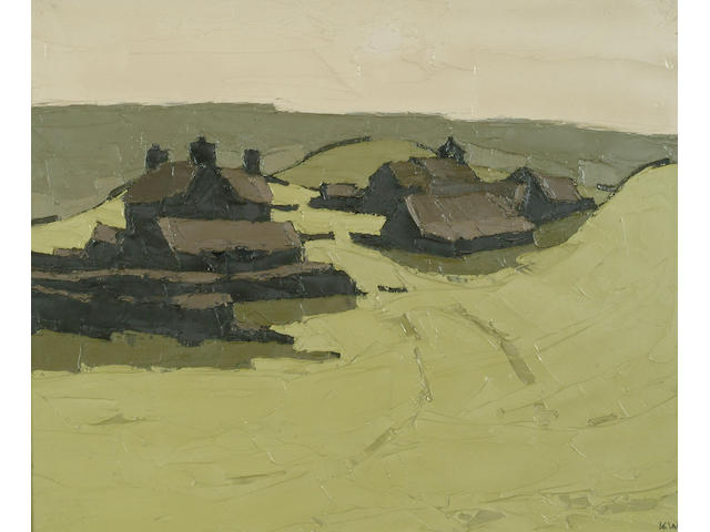 Sir Kyffin Williams (1918-) 'Penrhyn' 50 x 60cm