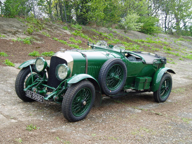 The ex W.B. 'Bummer' Scott Team Car specification,1929 Bentley 4 1/2 litre Le Mans Sports Four Seate