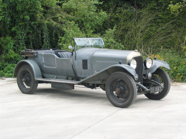 1928 Bentley 41/2-Litre Tourer  Chassis no. RL3427 Engine no. RL3429