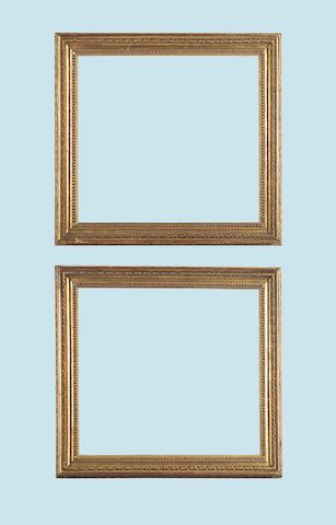A pair of English late 18th Century Carlo Maratta frames,