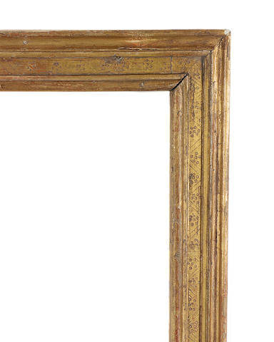 An Italian 18th Century gilded moulding frame,