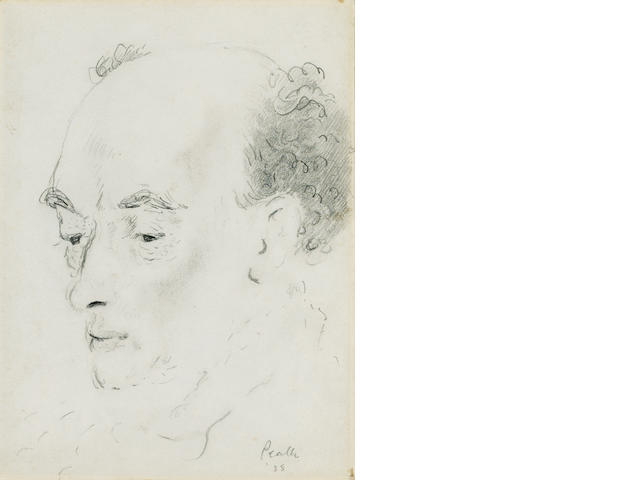 STEPHENS, JAMES (1882-1950, Irish poet and novelist) PORTRAIT BY MERVYN PEAKE (1911-1968),