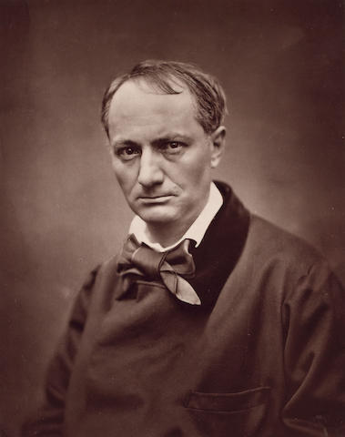 BAUDELAIRE, CHARLES (1821-1867, French poet) PORTRAIT BY ÉTIENNE CARAJAT (1828-1906),