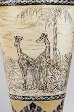 Hannah Barlow An Outstanding Doulton Lambeth Vase  by Hannah Barlow