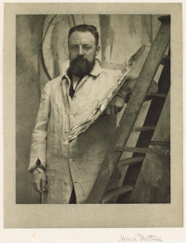 MATISSE, HENRI (1869-1918, Post-impressionist and Fauvist painter) PORTRAIT BY ALVIN LANGDON COBURN (1882-1966),