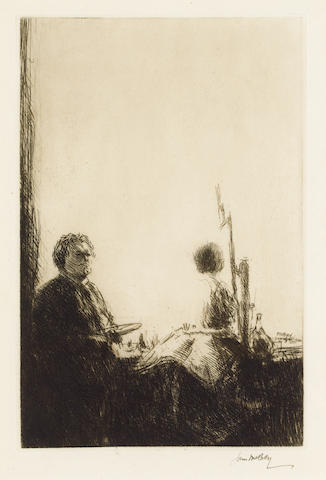 MCBEY, JAMES (<i>1883-1959, etcher</i>)