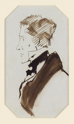 NEWTON, [GILBERT] STUART (1794-1835, known as Stuart Newton, artist, close friend of Landseer) FOUR