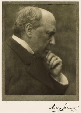 JAMES, HENRY (1843-1916, novelist, O.M.)  PORTRAIT BY ALVIN LANGDON COBURN (1882-1966),