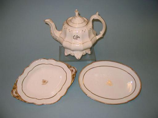 A Spode part dessert service circa 1840