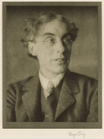 FRY, ROGER (<i>1866-1934, art critic and artist</i>)