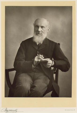 KELVIN, WILLIAM THOMSON, Baron Kelvin (1824-1907, mathematician and physicist) PORTRAIT BY HERBERT ROSE BARRAUD (1845-1896),