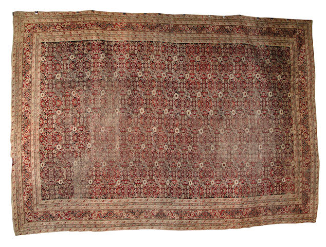 An Agra carpet North India, 533cm x 369cm