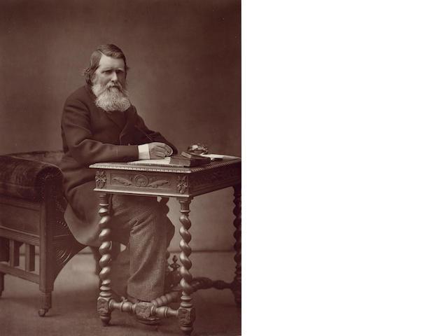 RUSKIN, JOHN (1819-1900, art critic, artist, author and social reformer) PORTRAIT BY HERBERT ROSE BA