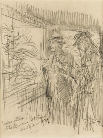 WELLS, H[ERBERT] G[EORGE] (1866-1946, novelist) TWO PORTRAITS: