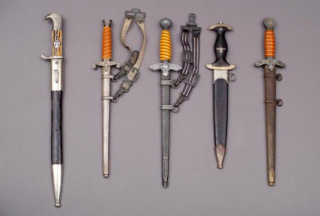 A Third Reich SS man's dagger