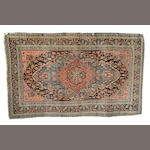 A Jozan rug North West Persia, 198cm x 120cm and two other rugs (3)