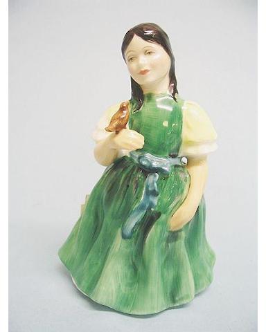 A Royal Doulton figure entitled Francine