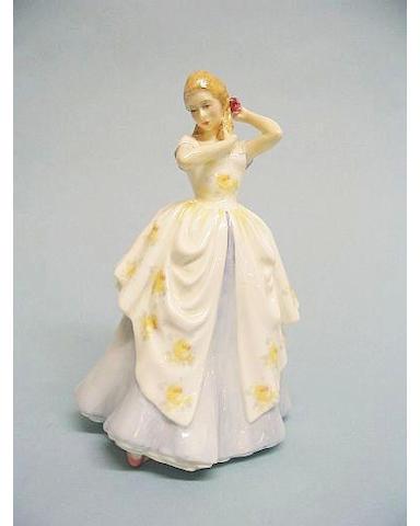 A Royal Doulton figure entitled Laura
