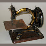 A shakespeare sewing machine