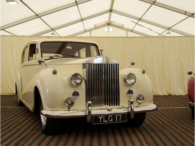 1956 Rolls-Royce 4.9 Litre Silver Wriath Seven Passenger Limousine  Chassis no. FLW16 Engine no. L15F