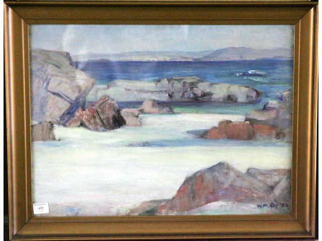 William Mervyn Glass (20thc) Iona