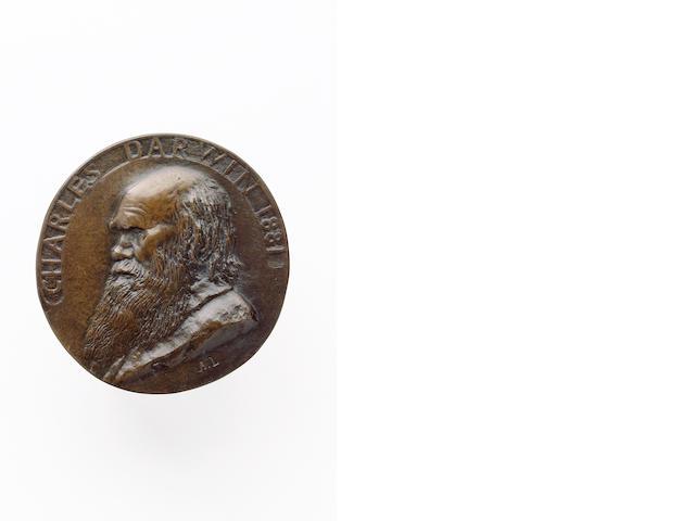 DARWIN, CHARLES (<i>1809-1882, naturalist</i>)