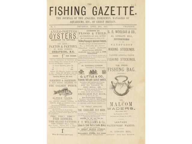 FISHING GAZETTE The Fishing Gazette, vol. 1-143 (lacking vol. 110, 112, 122-123, 125)