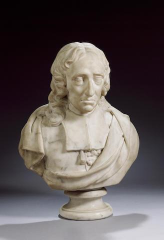 MILTON, JOHN (1608-1674, poet) PORTRAIT,
