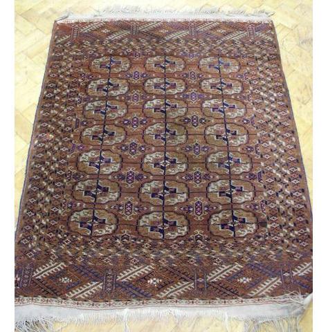 A Tekke rug, 1.46 x 1.10cm