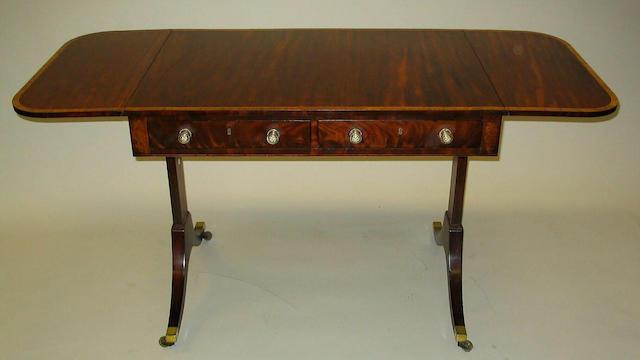 A George III mahogany sofa table