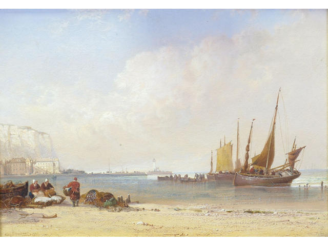 Arthur Joseph Meadows (1843-1907) 'Dover' 25 x 34cm  (10 x 13 1/2in)