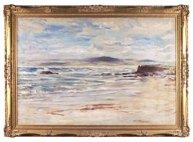 William McTaggart RSA RSW   (1835-1910) Machrihanish, Bay Voyach 147 x 218cm (58 x 86ins)
