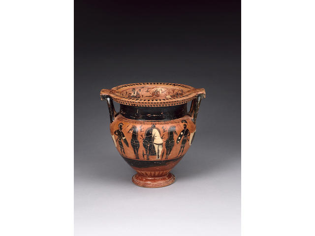 An Attic black-figure column Krater