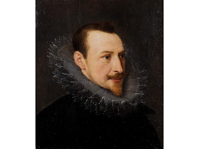 SPENSER, EDMUND (1552?-1599, poet) PORTRAIT, ENGLISH SCHOOL, EARLY 17TH CENTURY, KNOWN AS THE 'KINNOULL PORTRAIT',